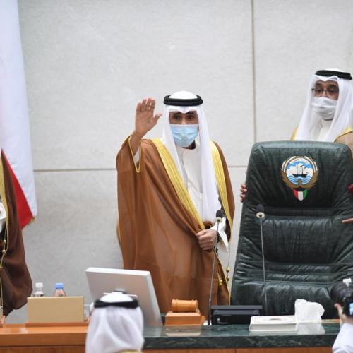 Kuwait's new emir meets senior U.S., Iranian officials