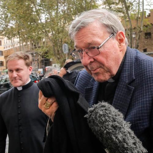 Cardinal Pell back in the Vatican