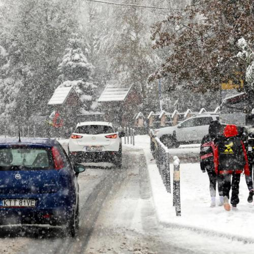 Photo Story: First snow in Zakopane, Poland