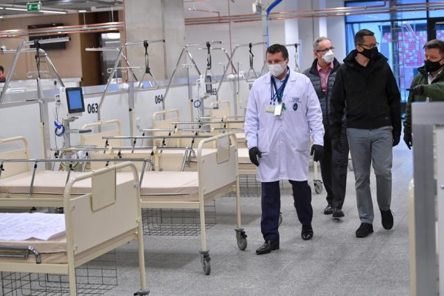 Poland orders state firms to set up field hospitals