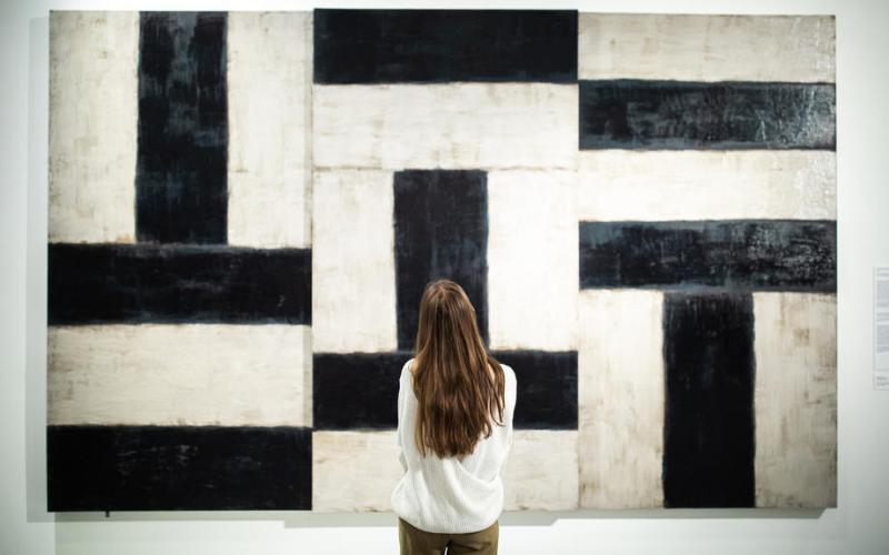 Photo Story: Retrospective exhibition of Sean Scully