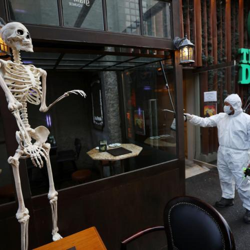 On Halloween, S.Korea officials warn 'don't end up a real ghost'