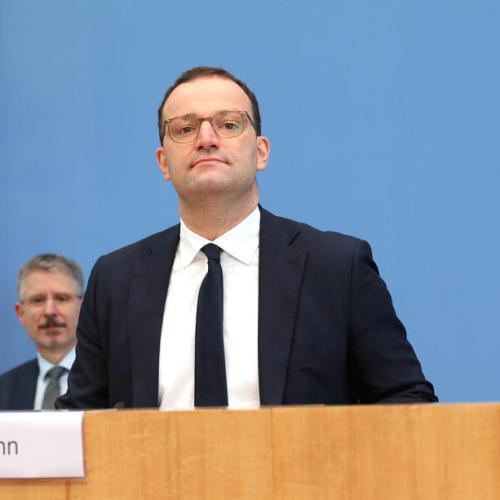 German health minister tests positive for coronavirus