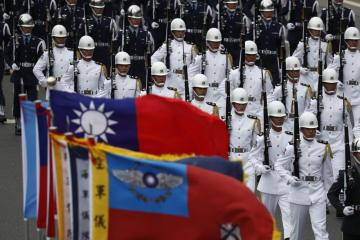 Taiwan defence minister says will not start a war with China