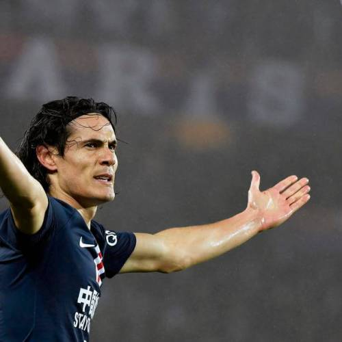 Cavani hopes to honour the iconic no. 7 Manchester Utd Shirt