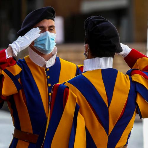 Covid cases among Swiss Guards at the Vatican increase to 11