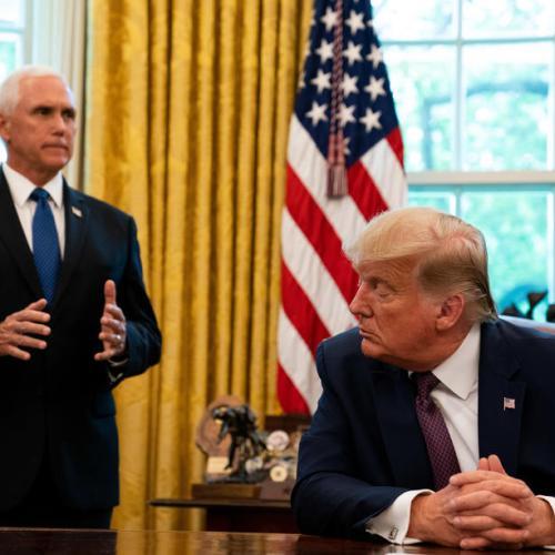 Update – VP Pence defies Trump – Trump attacks Pence