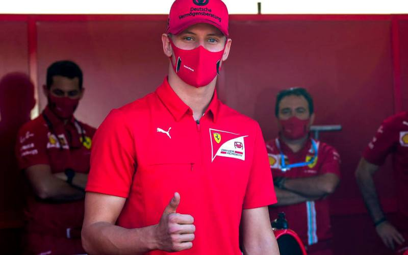 Schumacher Jr set to make F1 practice debut