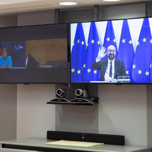 EU leaders to hold COVID-19 video-conference Oct.29