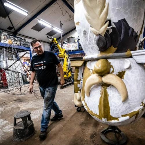 Photo Story: Dutch carnival association going ahead with plans
