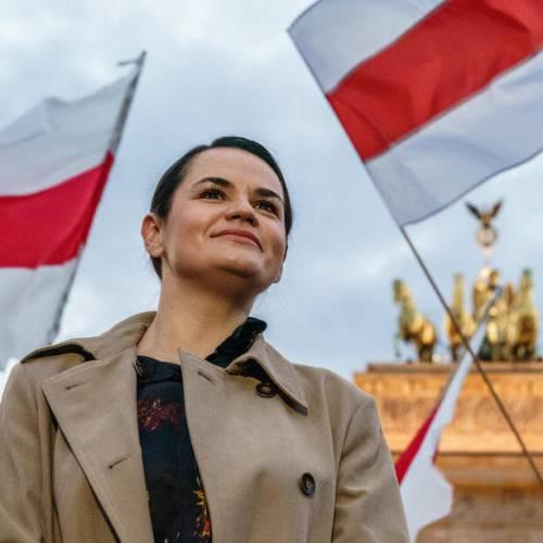 EU sanctions 'a small victory' – Belarusian opposition leader Tsikhanouskaya