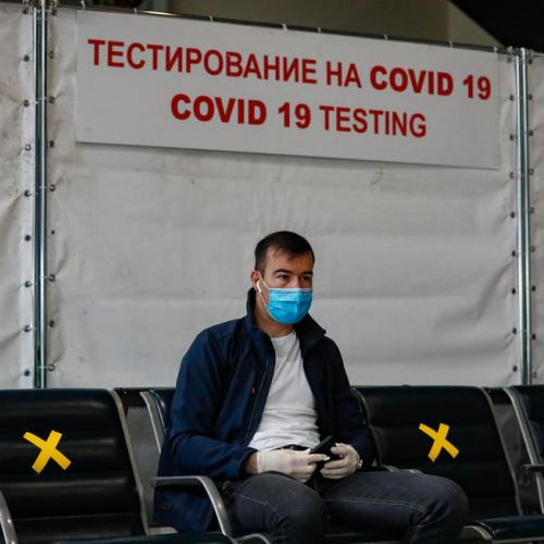 Russia recommends people stay at home amid record rise in virus cases