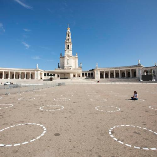 Photo Story: October Pilgrimage to Fatima Sanctuary in times of pandemic