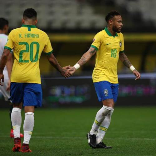 Brazil score 5 against Bolivia in World Cup qualifier