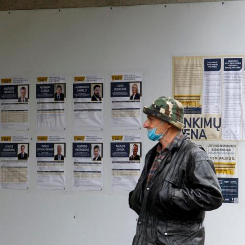 Second round of Lithuania's Parliamentary elections underway