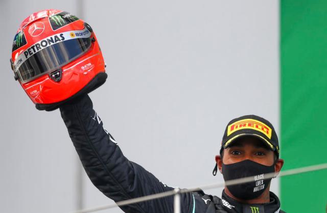 Sir Lewis; Formula One champion Hamilton gets his knighthood