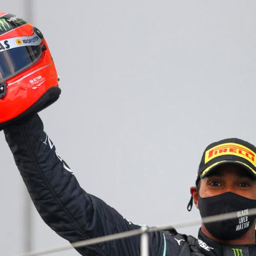 Sir Lewis; Formula One champion Hamilton gets his knighthood