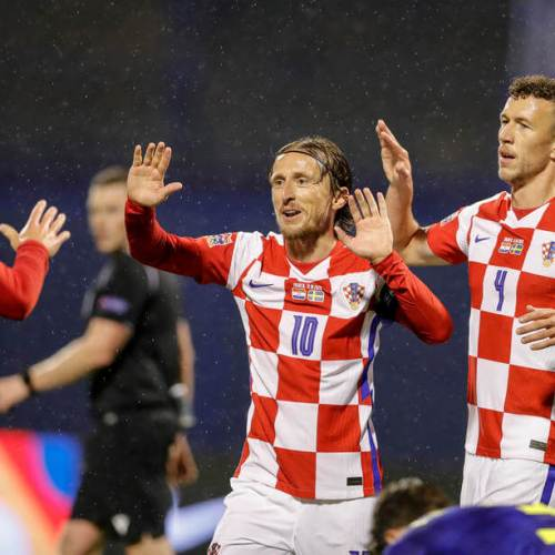 Croatia win against Sweden