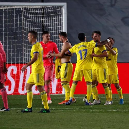 Real Madrid suffer shock defeat agains newly promoted Cadiz