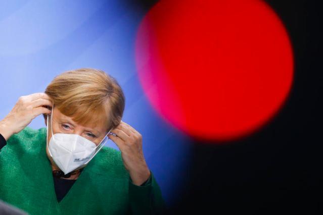 Merkel laments lack of discipline as German Covid cases soar