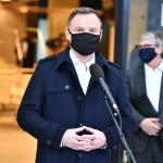 Polish President Andrzej Duda tests positive for Covid-19