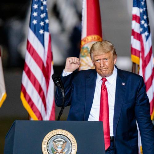 Trump votes in Florida