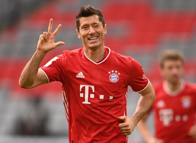 Bayern Munich thumps Eintracht Frankfurt 5 – 1