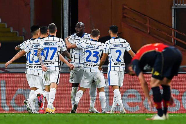Lukaku strikes again as Inter beat Genoa