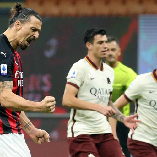 Milan, Roma share points in six-goal thriller