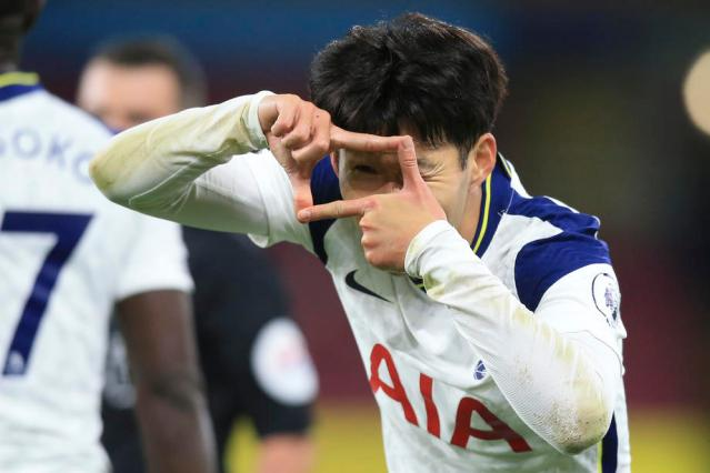 Spurs edge Burnley to move to fifth