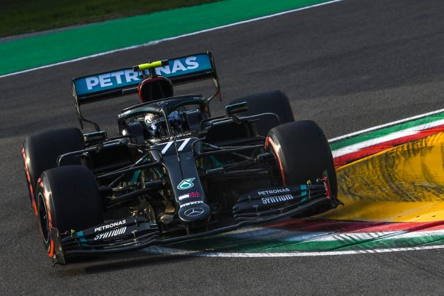 Bottas claims Imola Pole Position