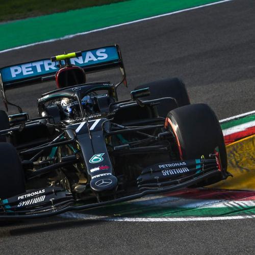 Bottas claims Imola Pole Position