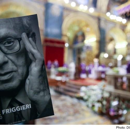 Malta pays tribute to Professor Oliver Friggieri