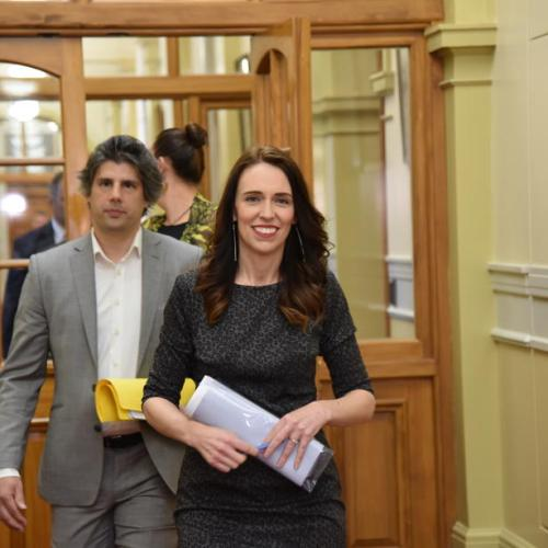 New Zealand's Ardern forms government with Greens