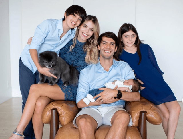 Every good gift and every perfect gift comes from above – Kaka on the birth of his daughter Esther