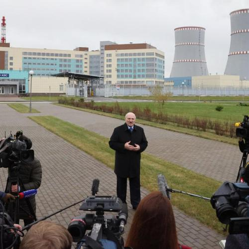 Belarus nuclear power plant restarts after equipment replaced