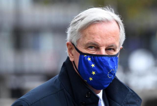 "EU's Barnier says ""fundamental differences"" persist in UK trade talks"