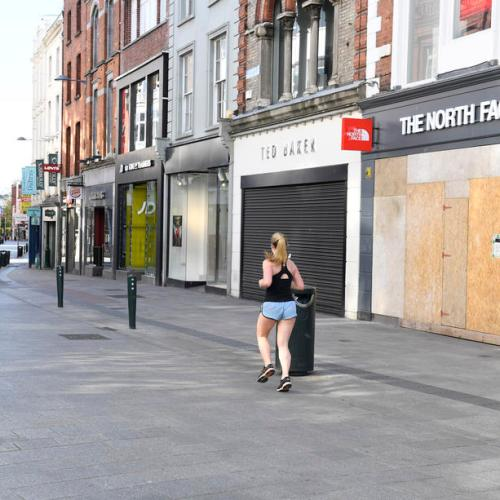 Irish COVID-19 unemployment rate above 20% after new restrictions