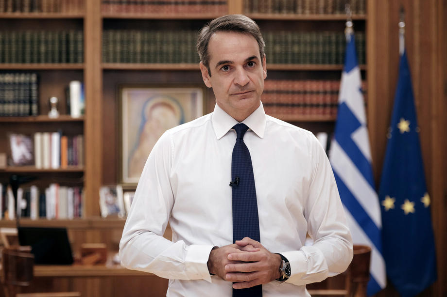 Greek PM says climate crisis is with us and cost of ignoring it 'unimaginable'