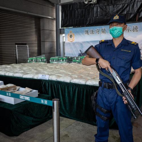 Photo Story: Record haul of methamphetamine seized in Hong Kong