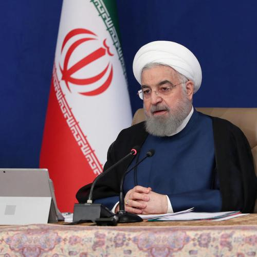 Iran's Rouhani says U.S. policies important, not who becomes president