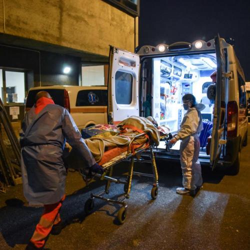 Italian hospitals close to collapse warn doctors, nurses