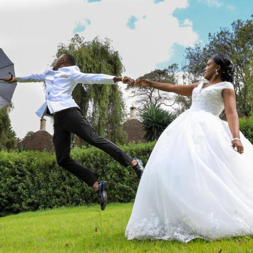 Photo Story: Wedding ceremony amid coronavirus pandemic in Kenya