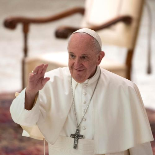 Pope Francis congratulates Biden, stepping into political fray