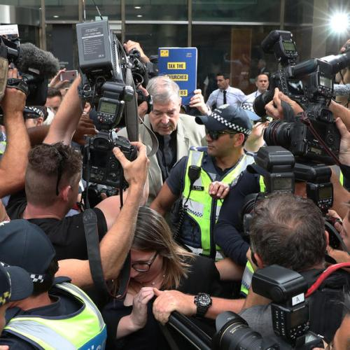 Contempt charges dropped against three editors in Pell conviction reporting trial