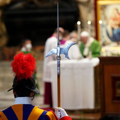Photo Story: Pope celebrates a Mass marking the Roman Catholic Church's World Day of the Poor