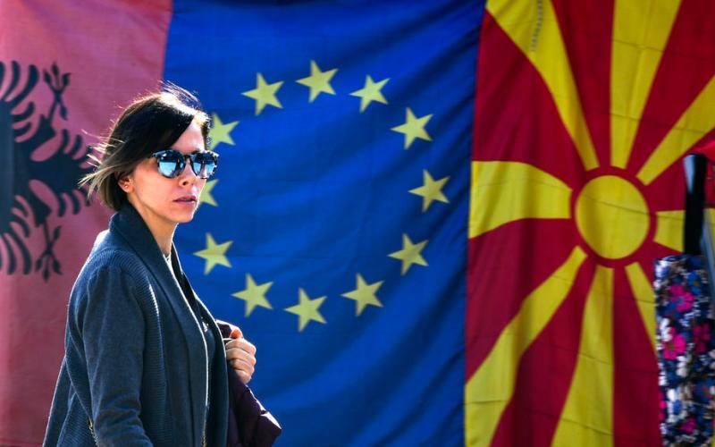 Slovenia pushes for Albania and N. Macedonia EU membership