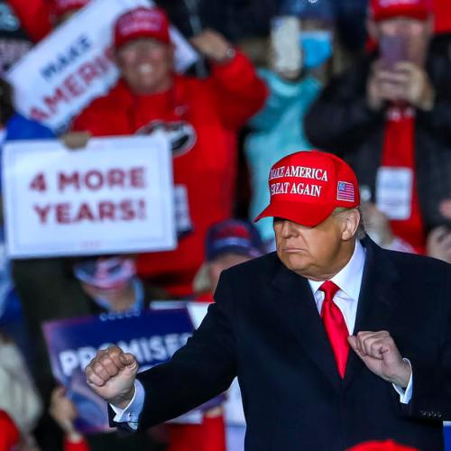 Trump casts doubt on integrity of prolonged vote count