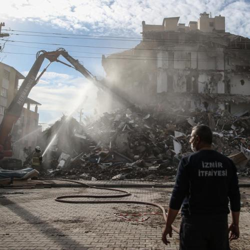 Aegean quake toll rises to 116 as Turkey ends search