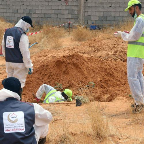 More mass graves discovered in Tarhouna, Libya